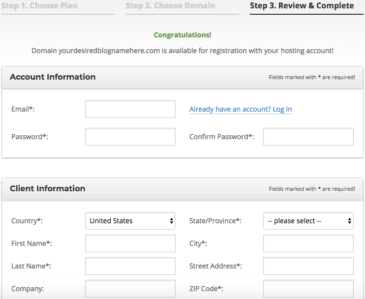 Gab With Me Blog SiteGround registration information page 1 image