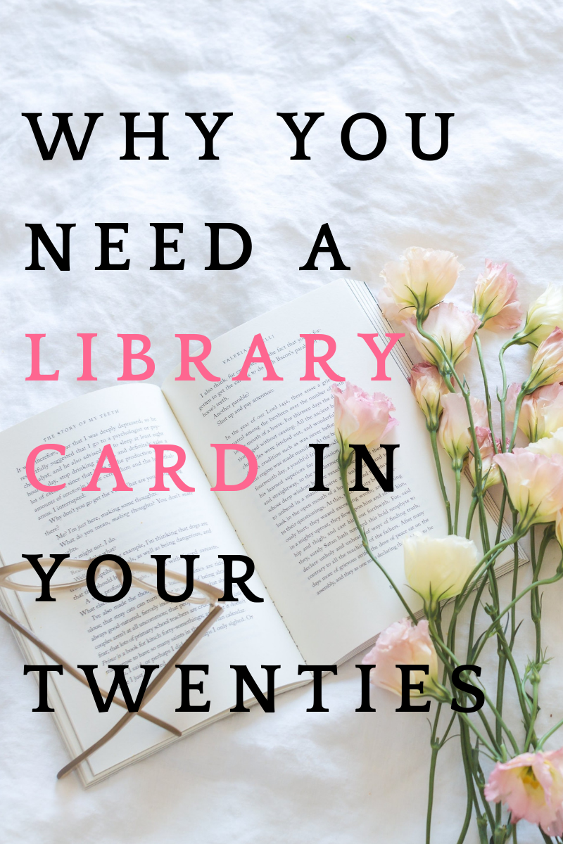 Why You Need A Library Card In Your Twenties - Gab With Me blog Image