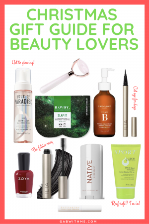 Gab With Me Chirstmas Gift Guide for Beauty Lovers Image