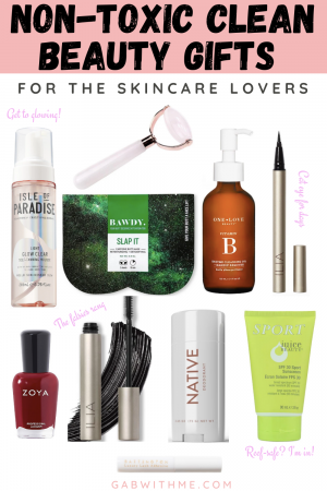 Non-toxic Clean Beauty Gift Guide 2019 Gab With Me