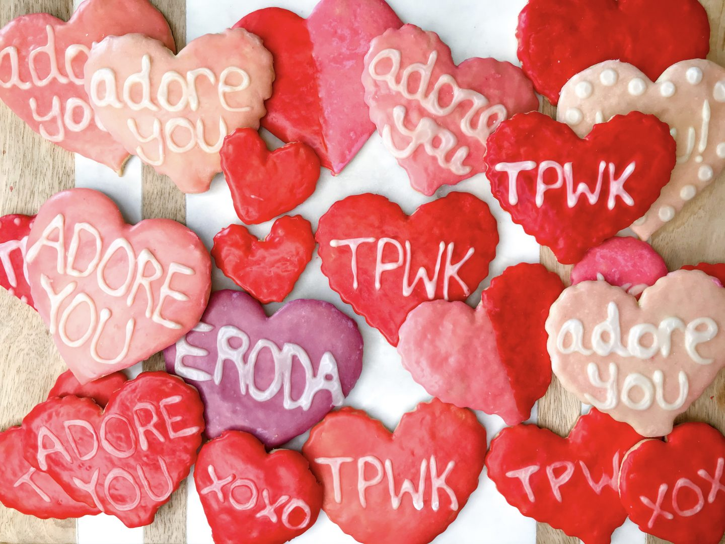 Gab With Me Homemade Valentine's Day Sugar Cookies Image