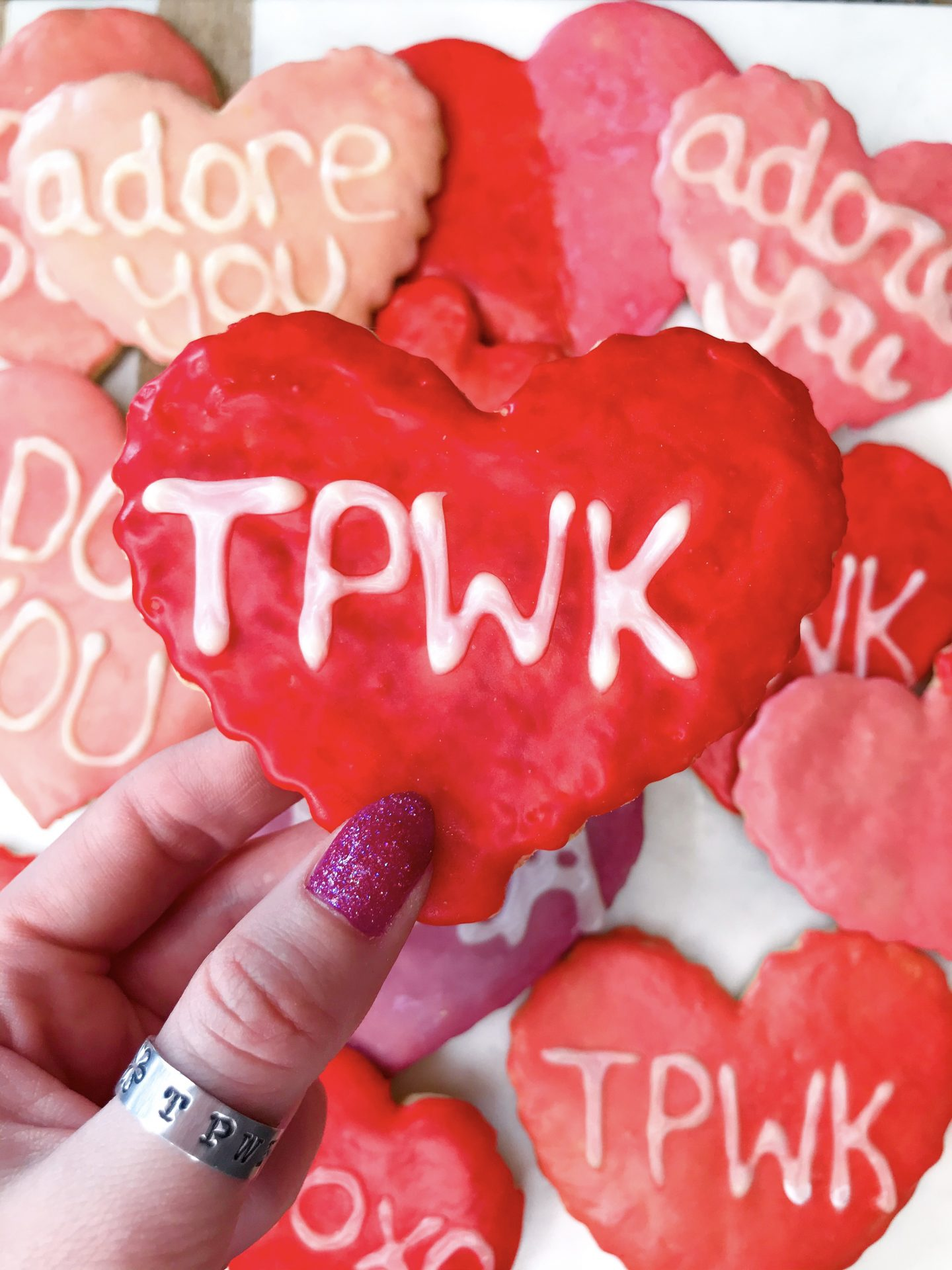 Gab With Me Homemade Valentine's Day Sugar Cookies TPWK